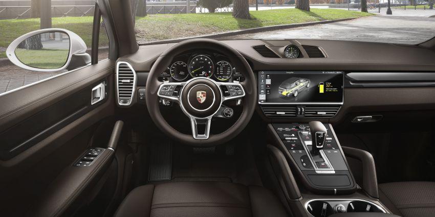 E3 Porsche Cayenne E-Hybrid revealed with 462 PS Image #814019