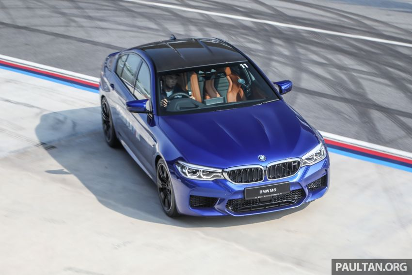 F90 BMW M5 launched in Malaysia, from RM943k Image #818453