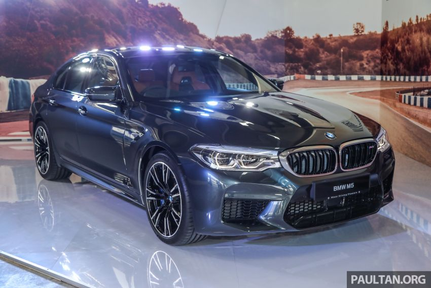 F90 BMW M5 launched in Malaysia, from RM943k Image #818353