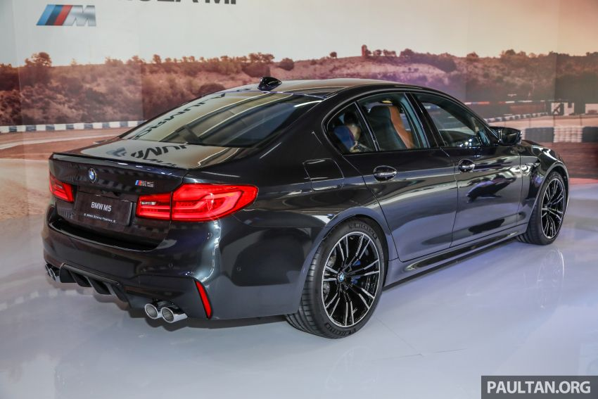 F90 BMW M5 launched in Malaysia, from RM943k Image #818354