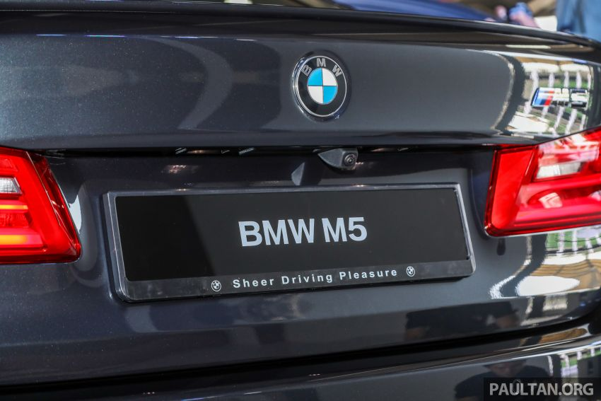 F90 BMW M5 launched in Malaysia, from RM943k Image #818379
