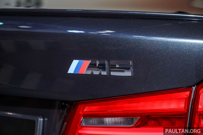 F90 BMW M5 launched in Malaysia, from RM943k Image #818383