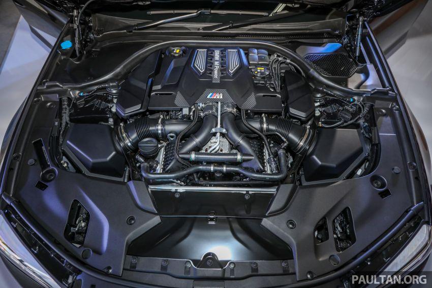 BMW M5 F90 dilancarkan di Malaysia, bermula RM943k Image #818634
