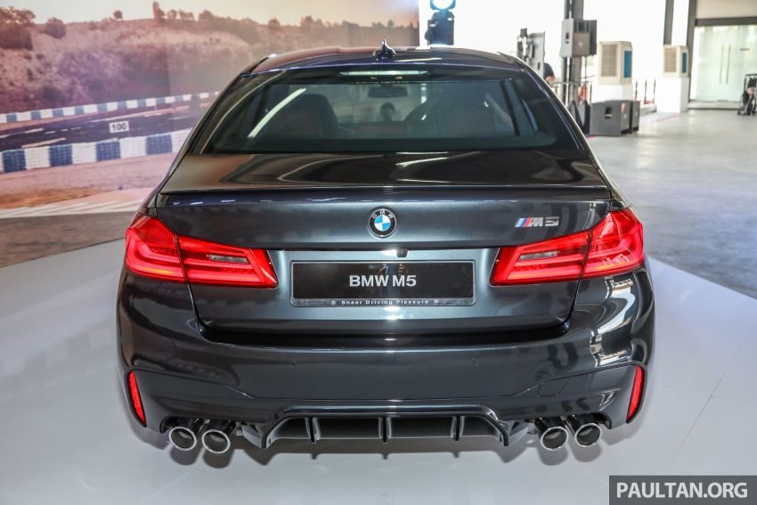 F90 BMW M5 launched in Malaysia, from RM943k Image #818358