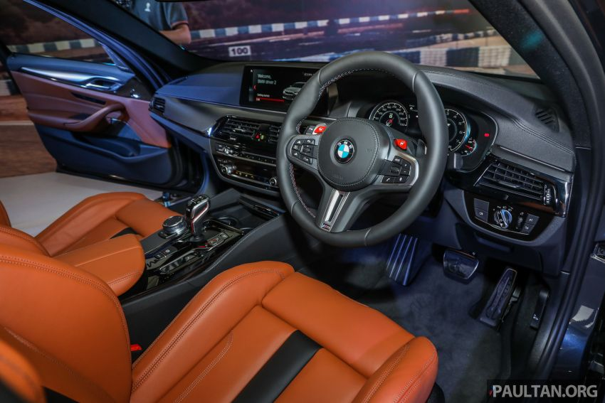 F90 BMW M5 launched in Malaysia, from RM943k Image #818387