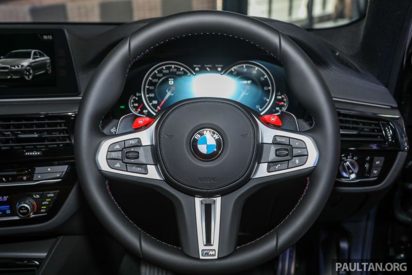 BMW M5 F90 dilancarkan di Malaysia, bermula RM943k Image #818638