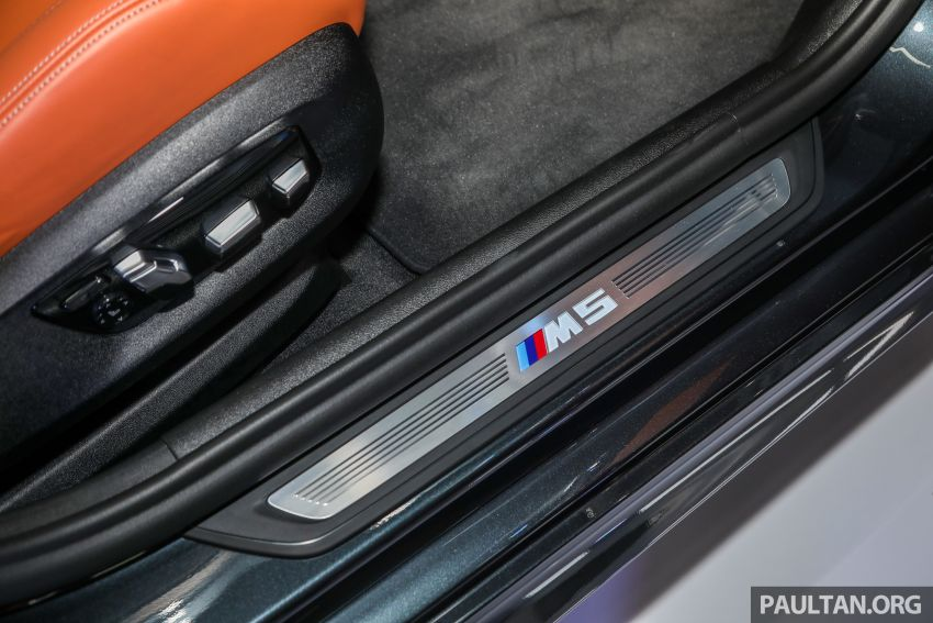F90 BMW M5 launched in Malaysia, from RM943k Image #818430
