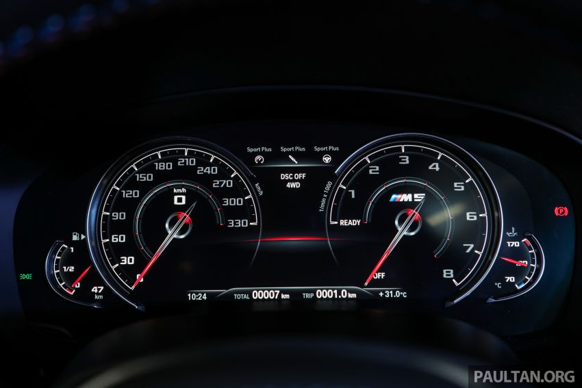 F90 BMW M5 launched in Malaysia, from RM943k Image #818391