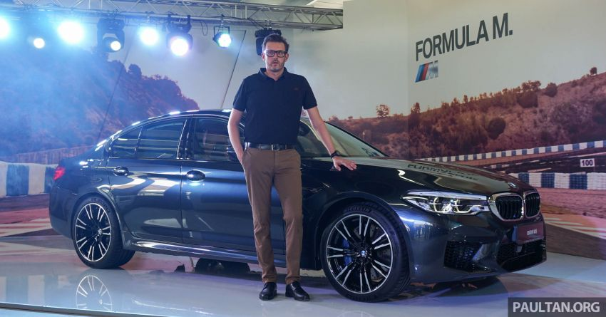 F90 BMW M5 launched in Malaysia, from RM943k Image #818297