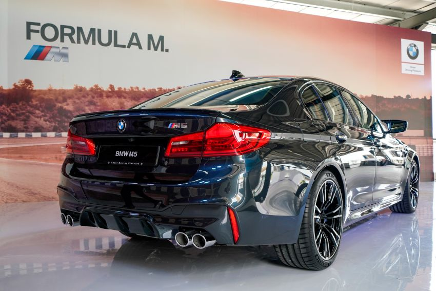 F90 BMW M5 launched in Malaysia, from RM943k Image #818868