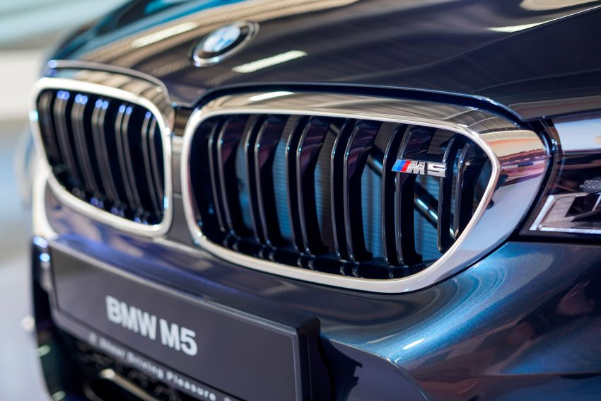 F90 BMW M5 launched in Malaysia, from RM943k Image #818867