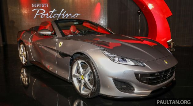ferrari portofino introduced in malaysia rm948k. Black Bedroom Furniture Sets. Home Design Ideas