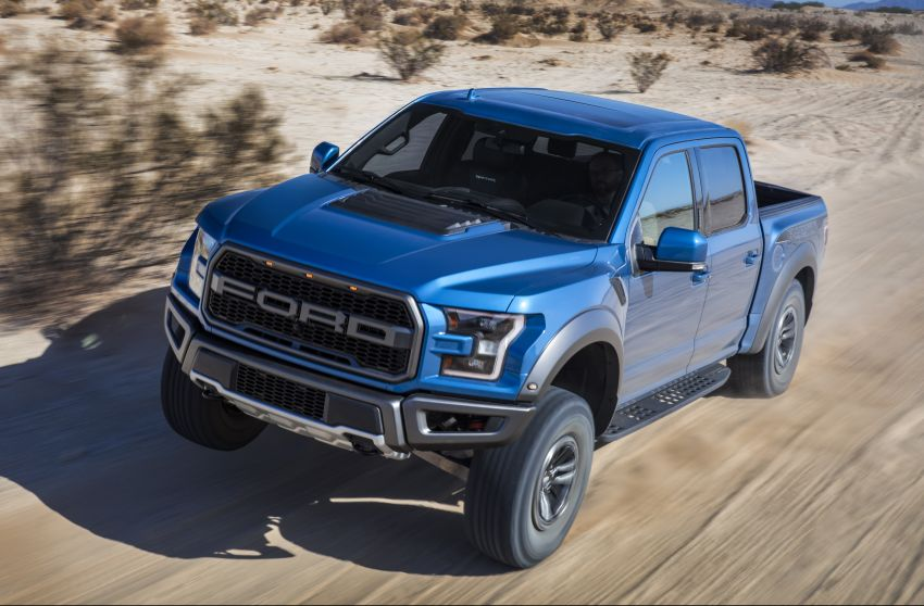 2019 Ford F-150 Raptor now with uprated Fox dampers Image #821096