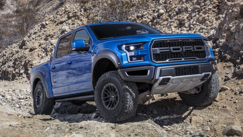 2019 Ford F-150 Raptor now with uprated Fox dampers Image #821127