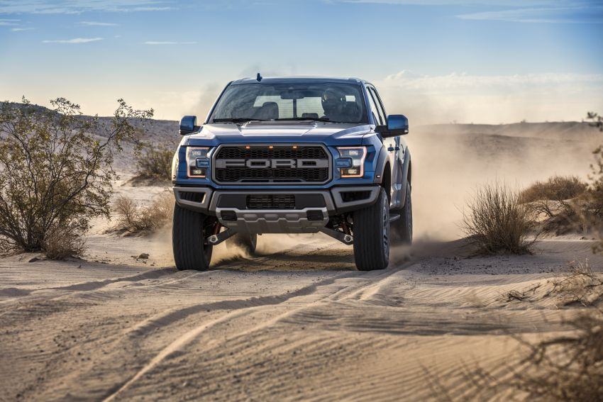 2019 Ford F-150 Raptor now with uprated Fox dampers Image #821102