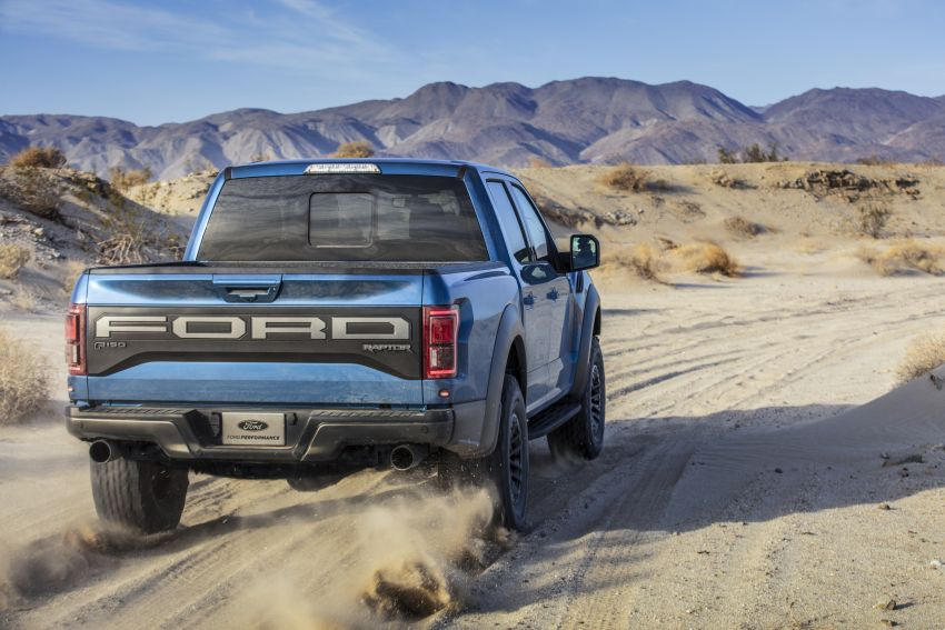 2019 Ford F-150 Raptor now with uprated Fox dampers Image #821103