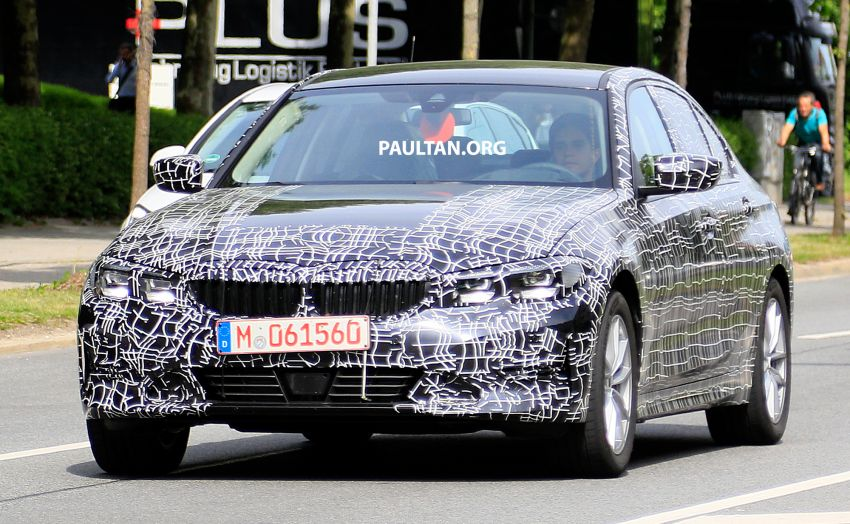 SPYSHOTS: G20 BMW 3 Series – non-M Sport this time Image #820264