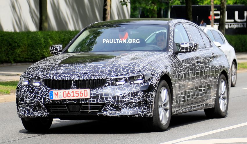 SPYSHOTS: G20 BMW 3 Series – non-M Sport this time Image #820265