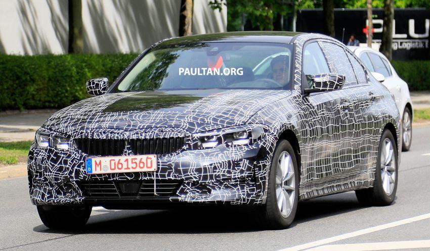 SPYSHOTS: G20 BMW 3 Series – non-M Sport this time Image #820265