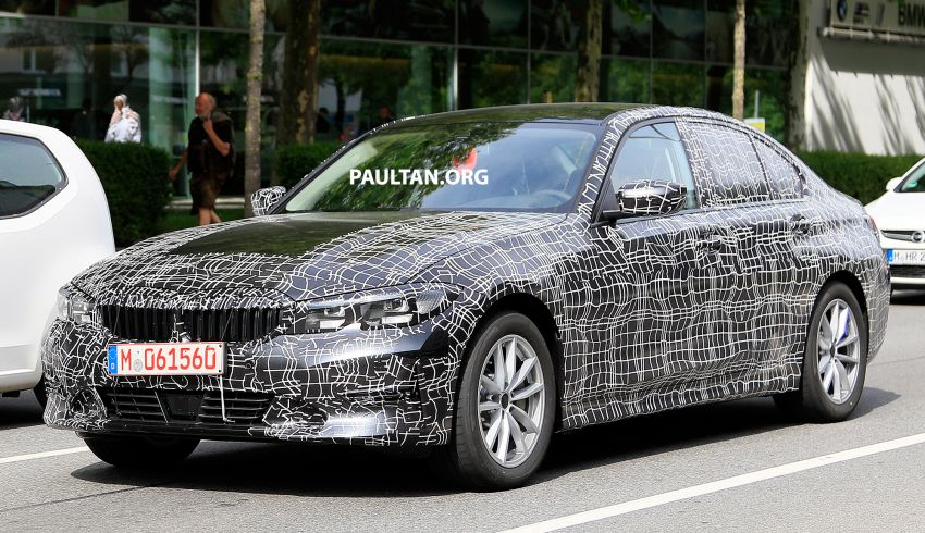 SPYSHOTS: G20 BMW 3 Series – non-M Sport this time Image #820267