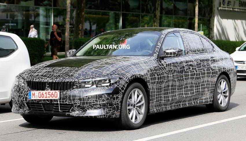 SPYSHOTS: G20 BMW 3 Series – non-M Sport this time Image #820267