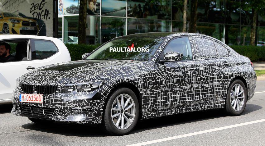 SPYSHOTS: G20 BMW 3 Series – non-M Sport this time Image #820268