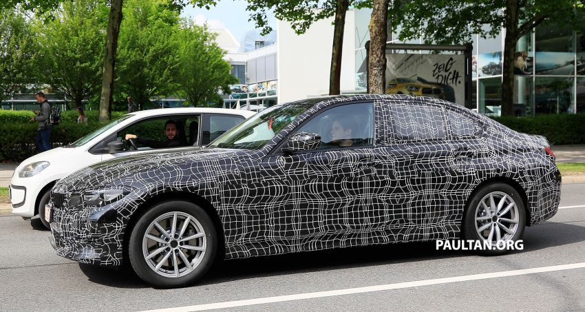 SPYSHOTS: G20 BMW 3 Series – non-M Sport this time Image #820269