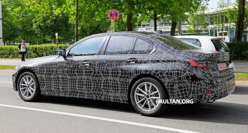 SPYSHOTS: G20 BMW 3 Series – non-M Sport this time Image #820272
