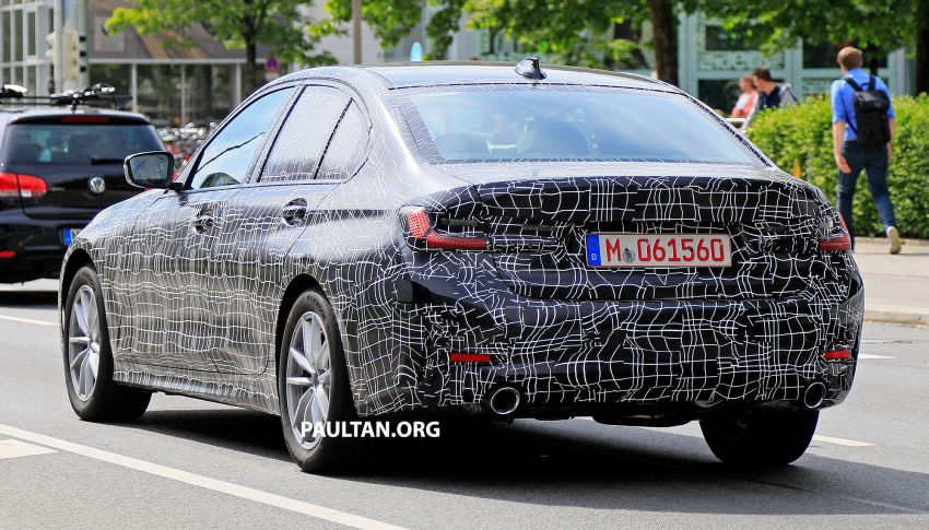 SPYSHOTS: G20 BMW 3 Series – non-M Sport this time Image #820276