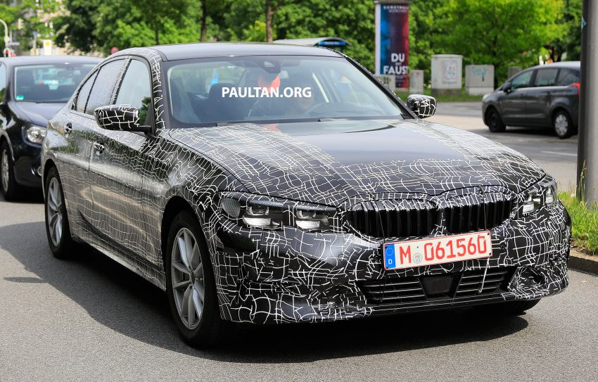 SPYSHOTS: G20 BMW 3 Series – non-M Sport this time Image #820278