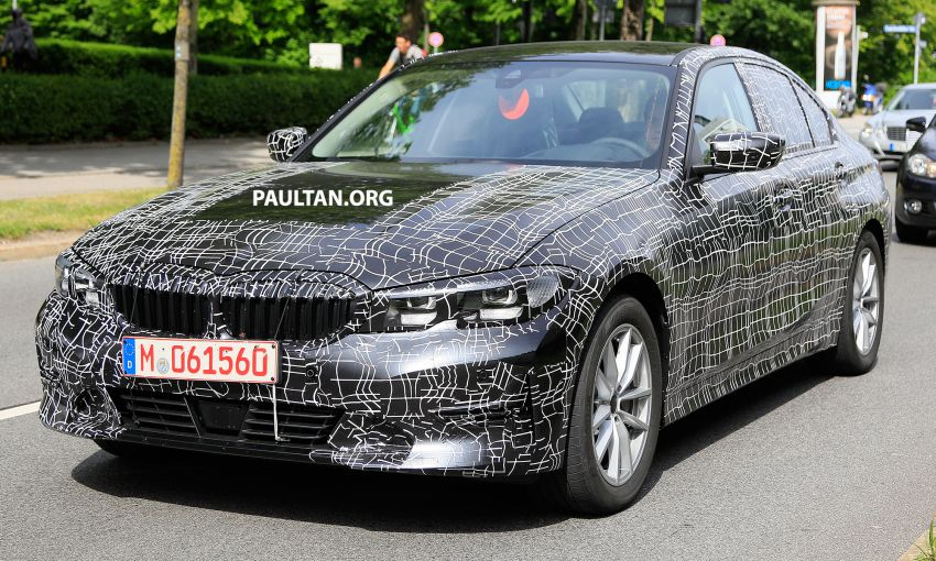 SPYSHOTS: G20 BMW 3 Series – non-M Sport this time Image #820279