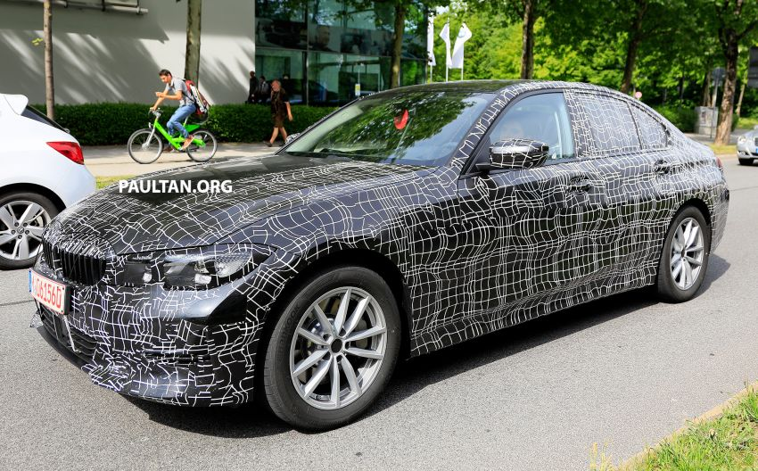 SPYSHOTS: G20 BMW 3 Series – non-M Sport this time Image #820281