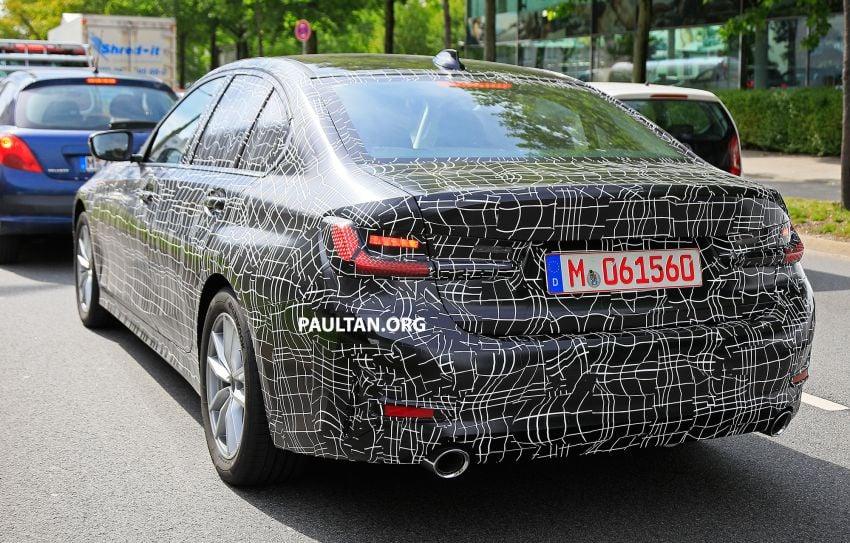 SPYSHOTS: G20 BMW 3 Series – non-M Sport this time Image #820282