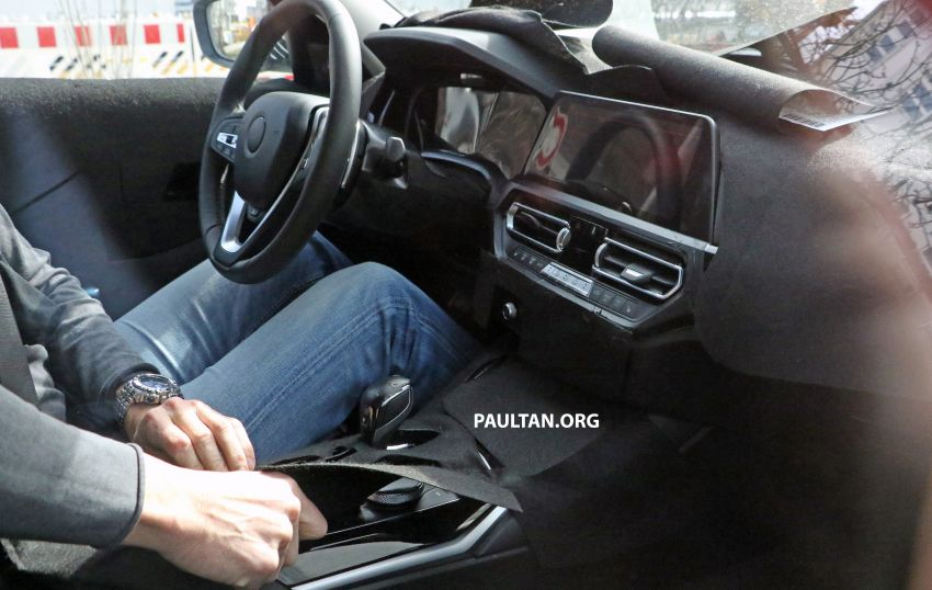 SPYSHOTS: G20 BMW 3 Series – interior clearly seen Image #814992