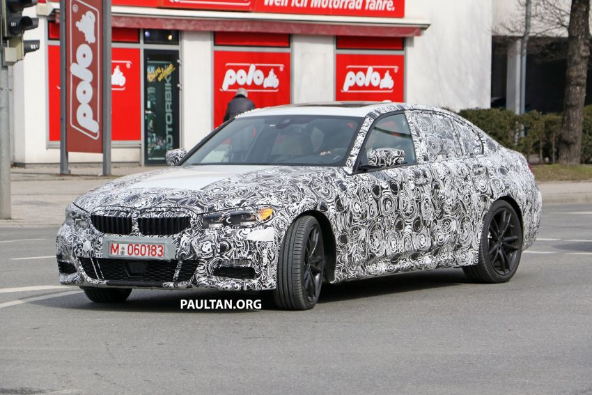 SPYSHOTS: G20 BMW 3 Series – interior clearly seen Image #815003