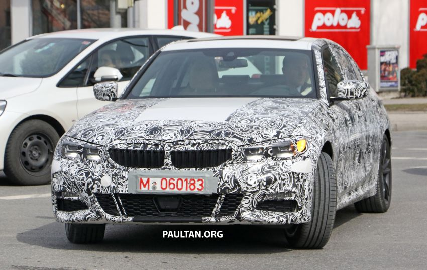 SPYSHOTS: G20 BMW 3 Series – interior clearly seen Image #815004