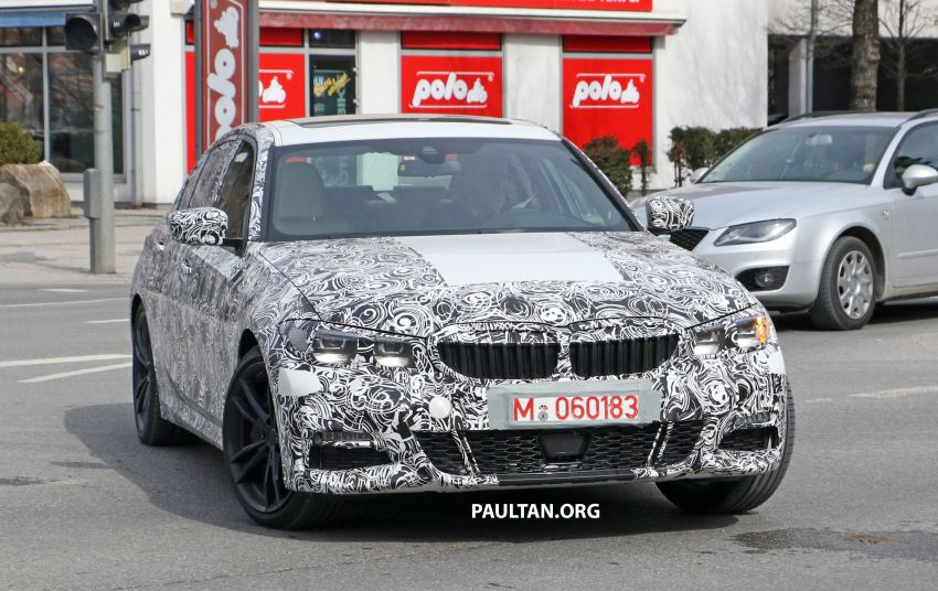 SPYSHOTS: G20 BMW 3 Series – interior clearly seen Image #815005