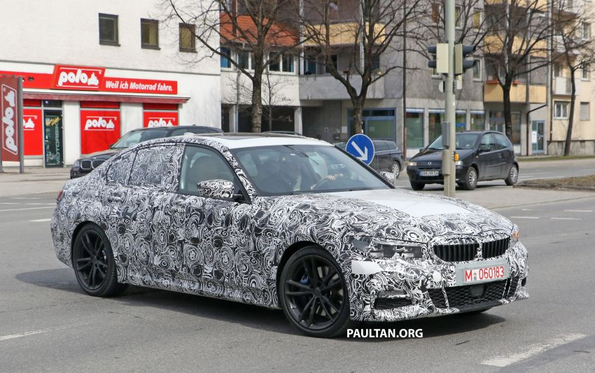 SPYSHOTS: G20 BMW 3 Series – interior clearly seen Image #815006