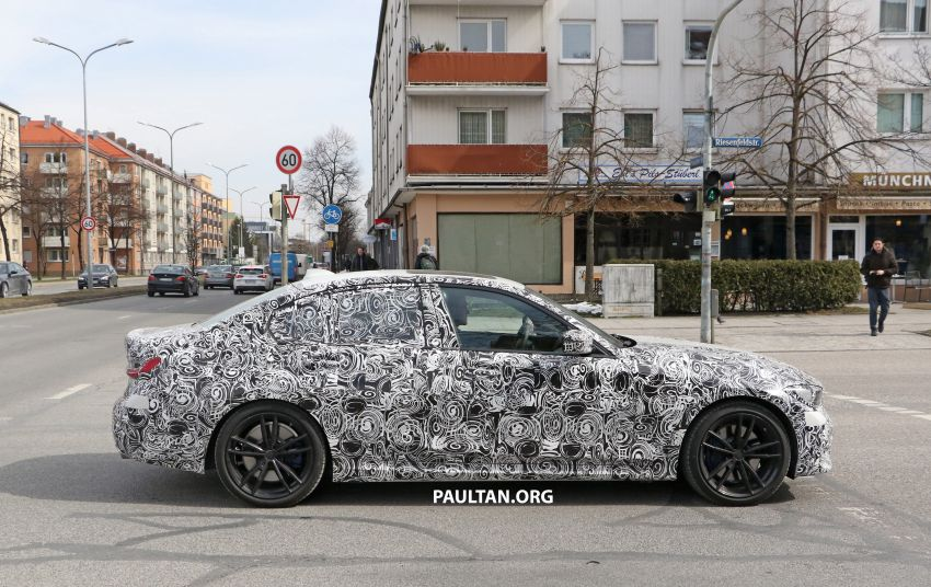 SPYSHOTS: G20 BMW 3 Series – interior clearly seen Image #815007