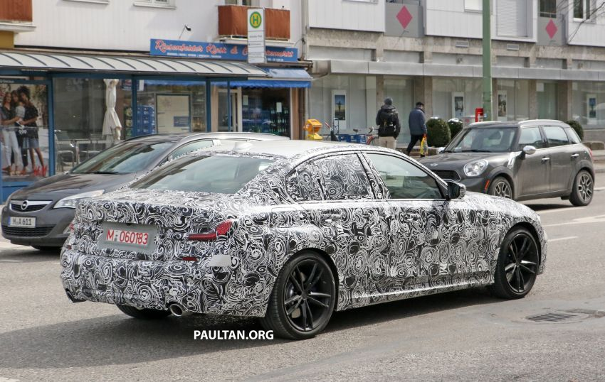 SPYSHOTS: G20 BMW 3 Series – interior clearly seen Image #815009