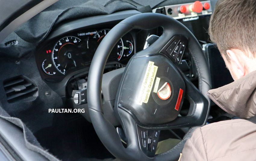 SPYSHOTS: G20 BMW 3 Series – interior clearly seen Image #814993