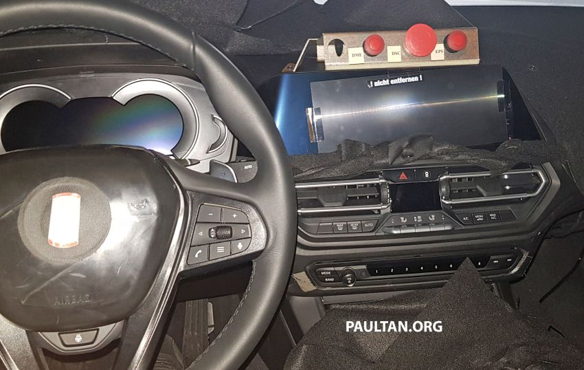 SPYSHOTS: G20 BMW 3 Series – interior clearly seen Image #814994