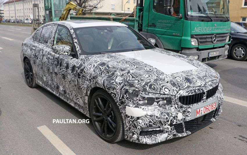 SPYSHOTS: G20 BMW 3 Series – interior clearly seen Image #814998
