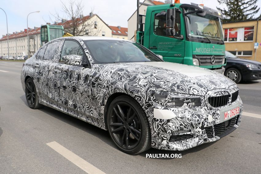 SPYSHOTS: G20 BMW 3 Series – interior clearly seen Image #814999