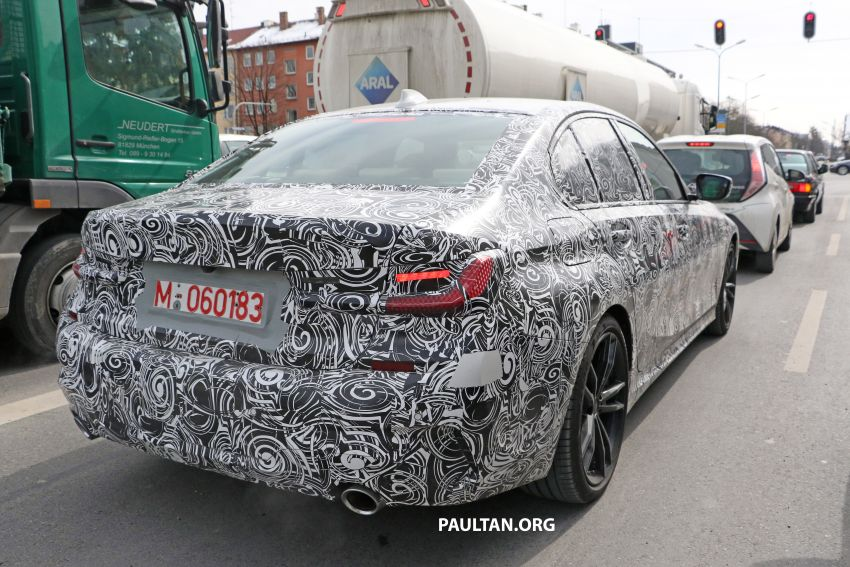 SPYSHOTS: G20 BMW 3 Series – interior clearly seen Image #815000
