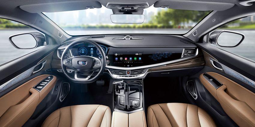Geely Borui GE – MHEV, PHEV powertrains, display key, AEB, dual-screen dash; next Proton Perdana? Image #822199