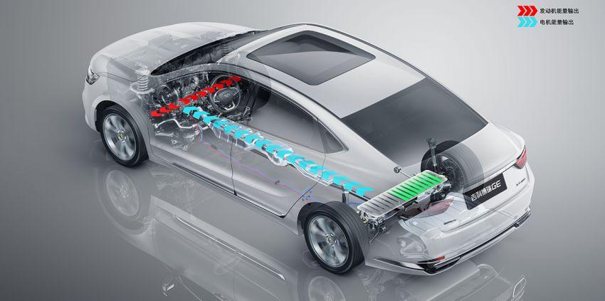 Geely Borui GE – MHEV, PHEV powertrains, display key, AEB, dual-screen dash; next Proton Perdana? Image #822220