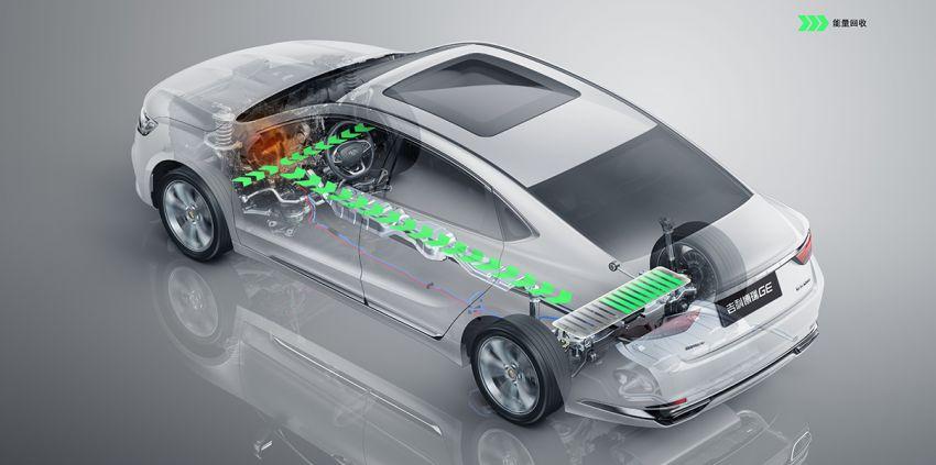 Geely Borui GE – MHEV, PHEV powertrains, display key, AEB, dual-screen dash; next Proton Perdana? Image #822223