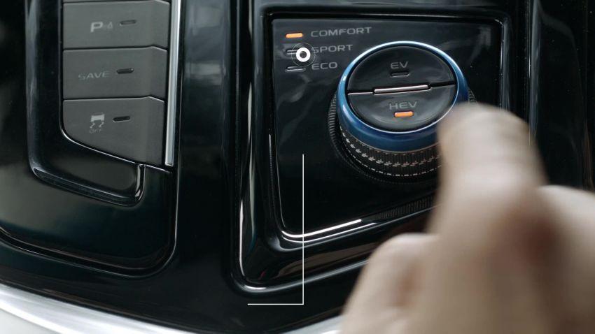 Geely Borui GE – MHEV, PHEV powertrains, display key, AEB, dual-screen dash; next Proton Perdana? Image #822245