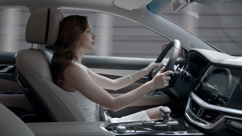 Geely Borui GE – MHEV, PHEV powertrains, display key, AEB, dual-screen dash; next Proton Perdana? Image #822262